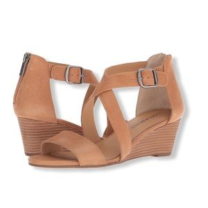 Lucky Brand Jenley Wedge Sandals